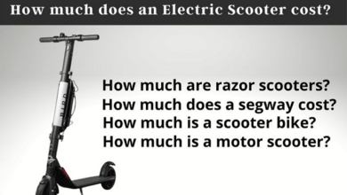 Photo of How much does an Electric Scooter cost?