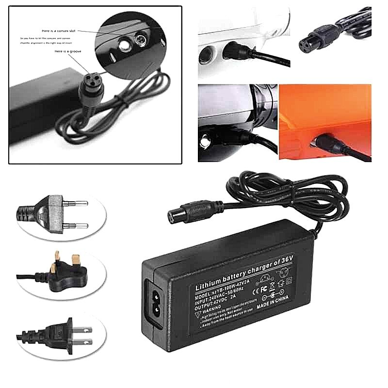 Universal Power Adapter of Electric scooter