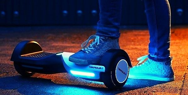 How does the Lexus hoverboard work?