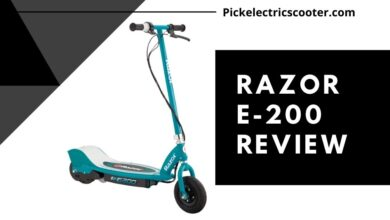 Photo of Razor E200 Electric Scooter Review