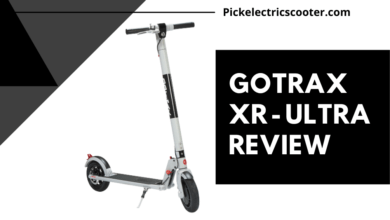 Photo of Gotrax XR Ultra Electric Scooter Review
