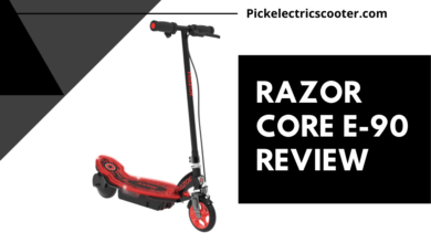 Photo of Razor E90 Electric Scooter Review