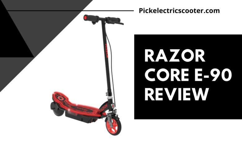 Razor Core E90 electric scooter review