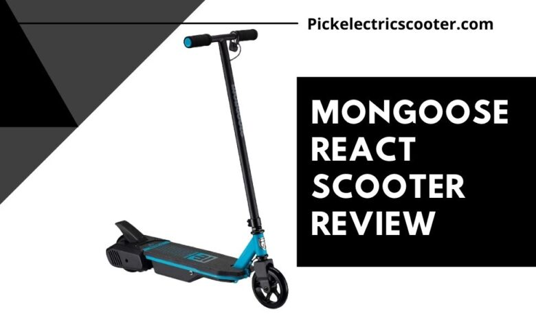 Mongoose React Electric Scooter Review