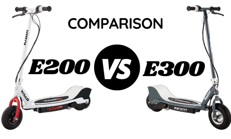 razor e300 vs e200