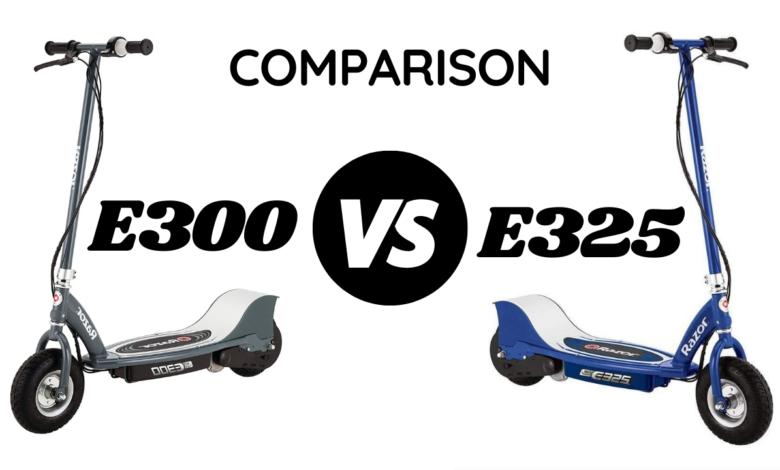 RAZOR E300 VS E325