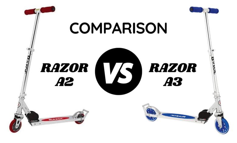 Razor A2 vs A3