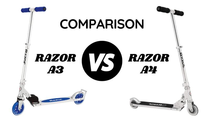 Razor A3 vs A4