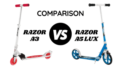 Photo of Razor A3 vs A5 Lux – Expert's Top Comparison for 2021