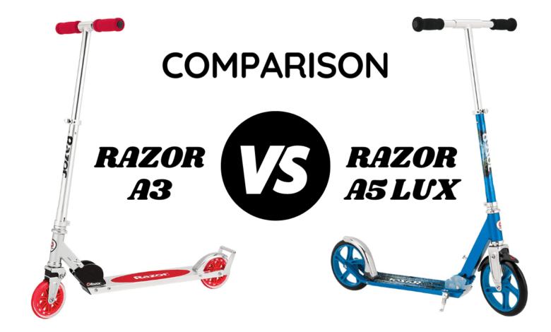 Razor A3 vs A5
