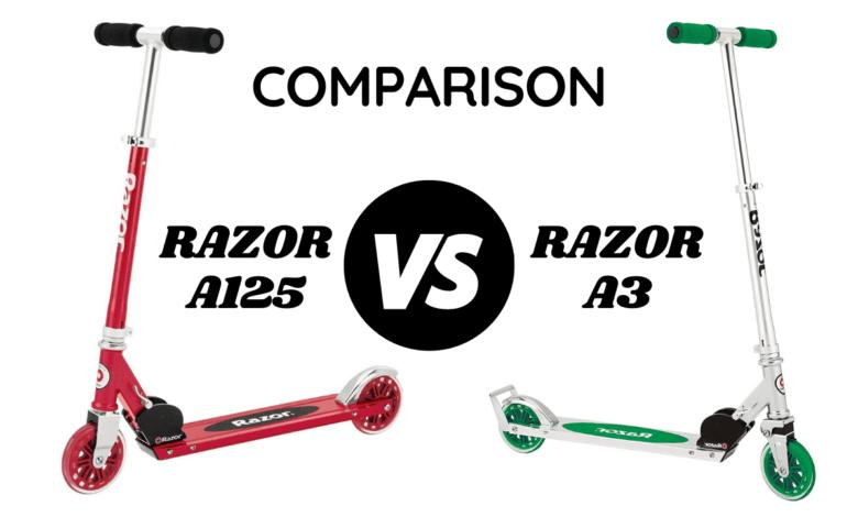 Razor A125 vs A3