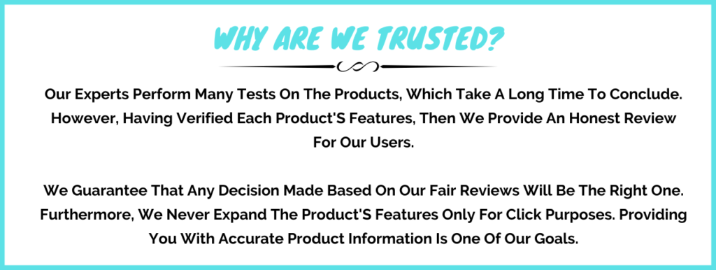 Why Are We Trusted
